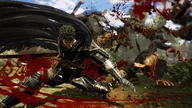 ベルセルク無双 ガッツ ドラゴン殺し 血祭り 血しぶき プレイアブル グリフィス シールケ キャスカ に関連した画像-15