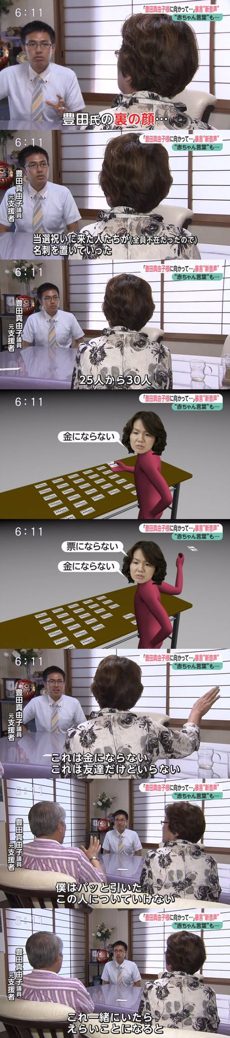 豊田真由子 支援者 選り好みに関連した画像-03