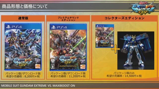 家庭用 ガンダムゲーム 機動戦士ガンダムEXTREMEVS. 発売日 PS4に関連した画像-10