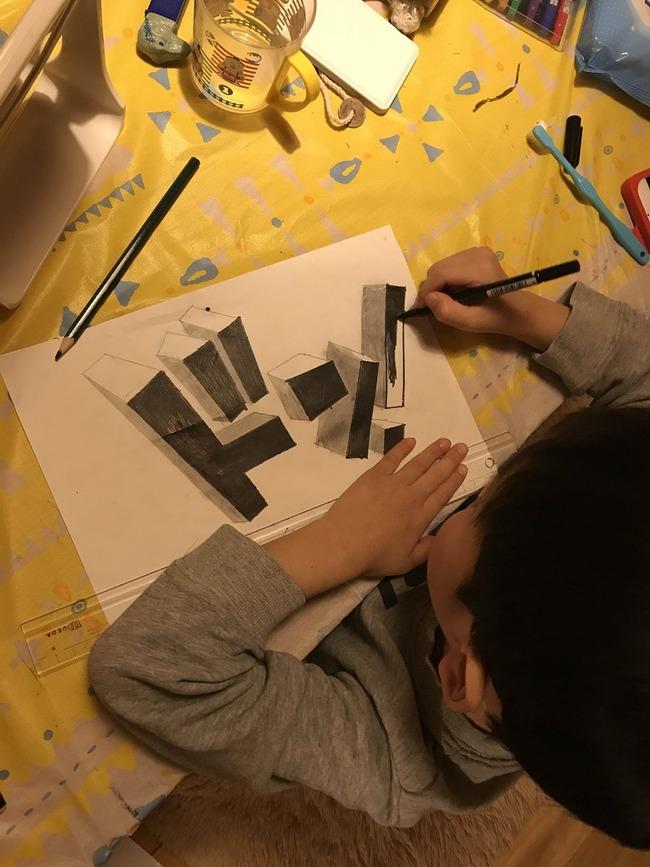 6歳 トリックアート 天才 クオリティに関連した画像-02
