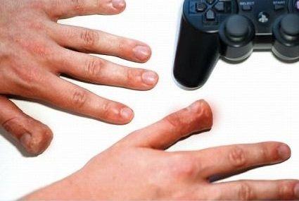 ゲーマー親指 指 ゲーマー 手首に関連した画像-01
