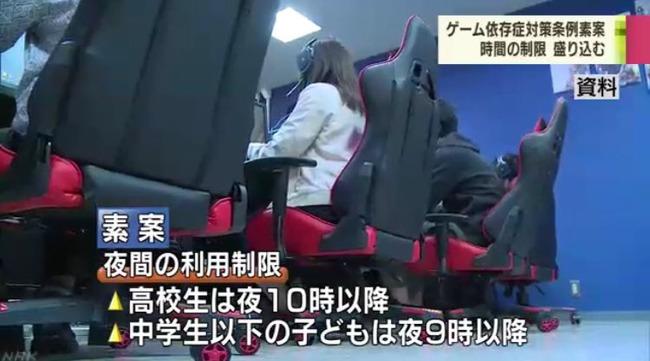 香川県 子ども 1日1時間 ゲーム 夜間 利用 制限 条例 検討に関連した画像-05