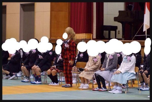 ギャル ホスト 小学生 入学式に関連した画像-04