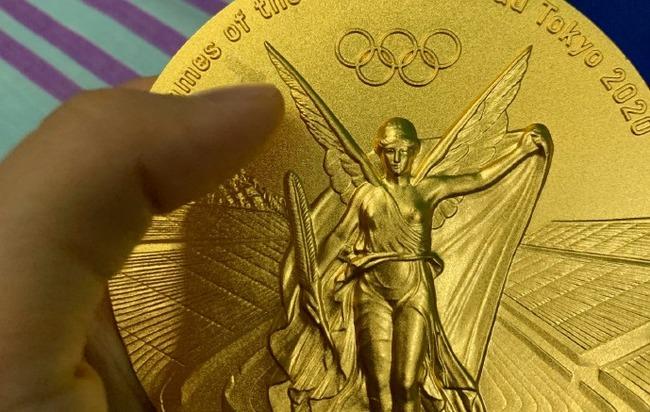 東京五輪 金メダル 剥げる 中国ネット 物議 朱雪瑩 シュ・セツエイに関連した画像-01