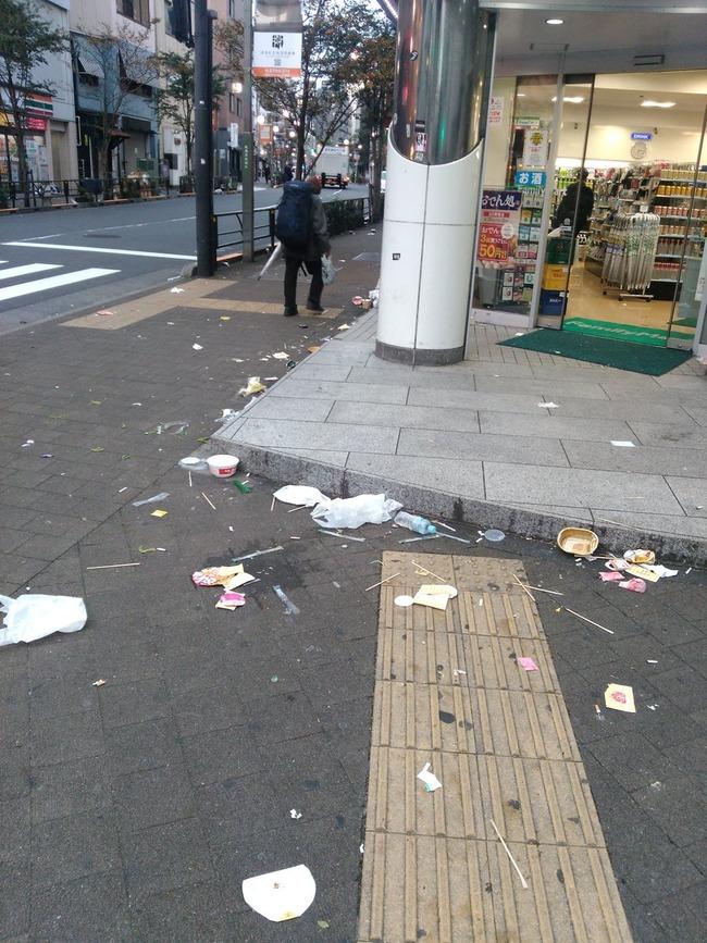 ハロウィン 渋谷 ゴミ ポイ捨てに関連した画像-02