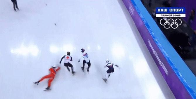 オリンピック 五輪 スピードスケート ショートトラック 北朝鮮 妨害に関連した画像-04