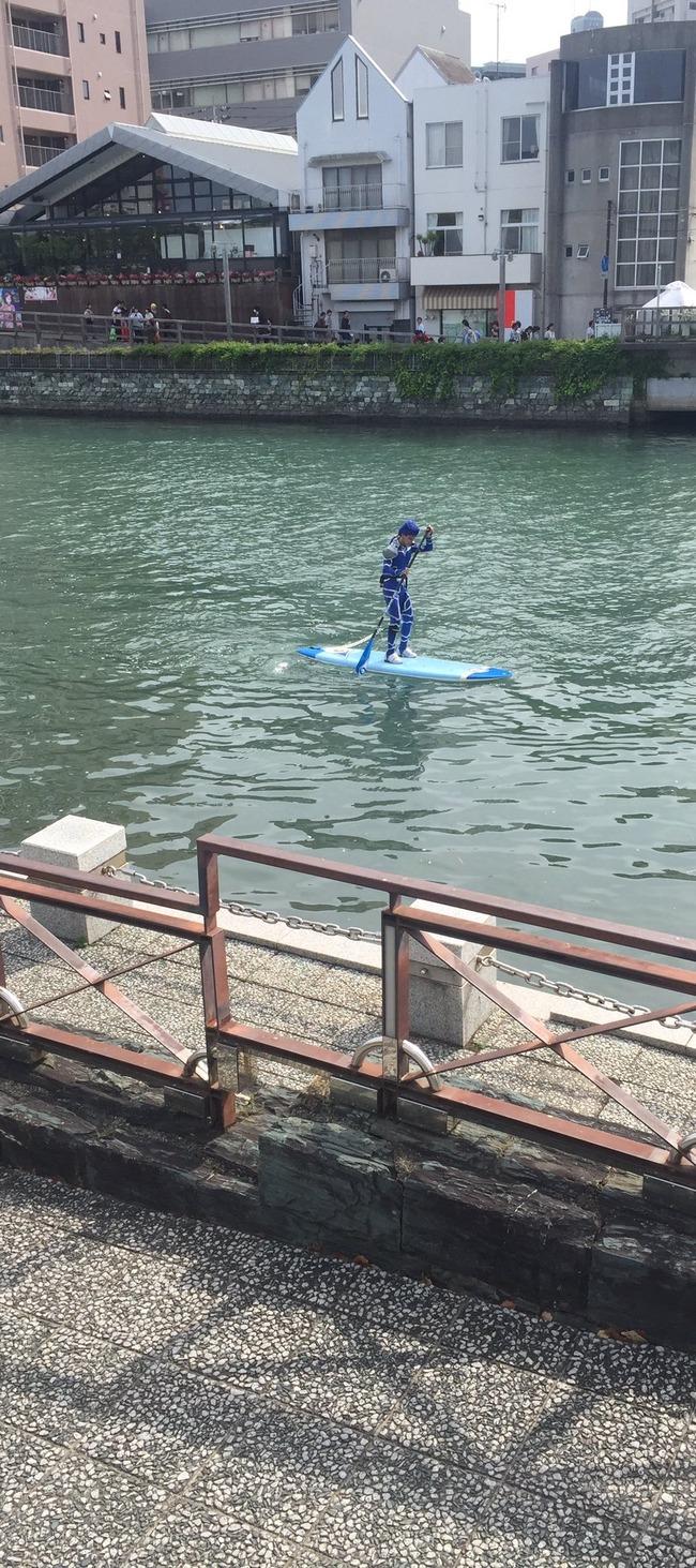 Fate ランサー クー・フーリン 兄貴 コスプレ 徳島 川 川渡り マチアソビに関連した画像-04