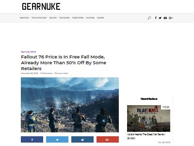 Fallout76値下げに関連した画像-02