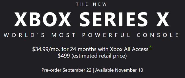 Xbox Series X 価格 発売日に関連した画像-02