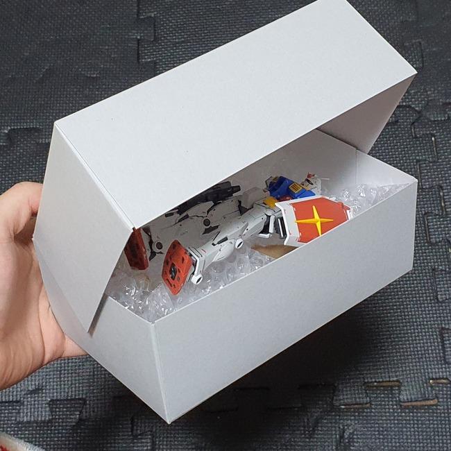ツイッター ガンプラ 箱 使い方 天才に関連した画像-06