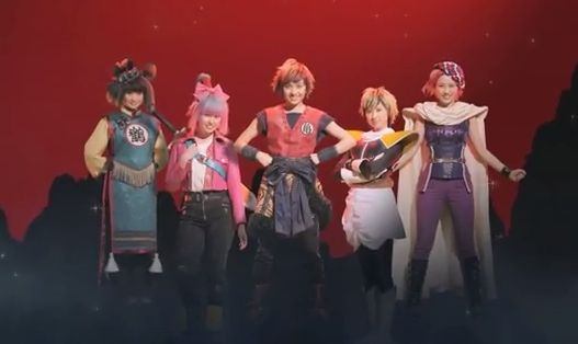 ドラゴンボールZ 劇場版 映画 ももいろクローバーZ MV ミュージック コスプレに関連した画像-01
