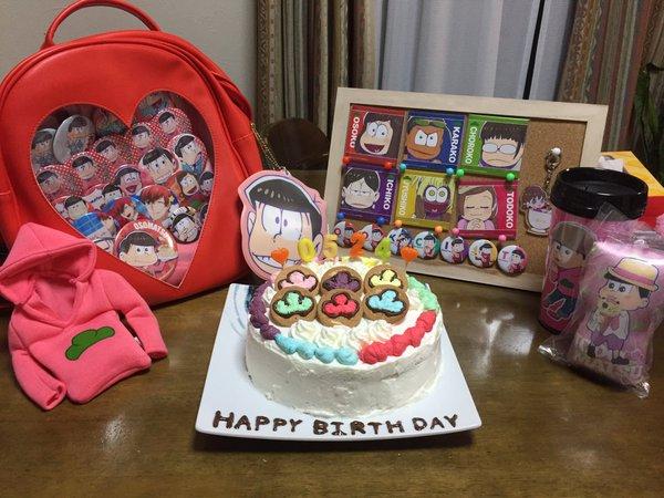 生誕祭 誕生日 おそ松さん おそ松くん 松野家 6つ子 誕生日リミックス SIX SAME FACESに関連した画像-04