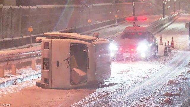 大雪 東京 病院 搬送 救急車に関連した画像-01