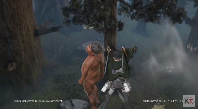 進撃の巨人 PS4 ゲーム PVに関連した画像-07