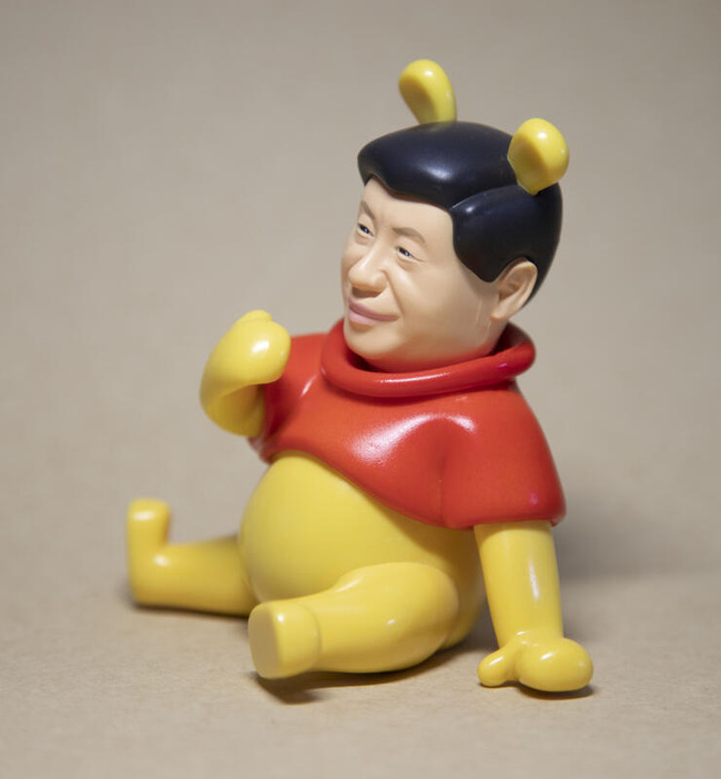 台湾 習近平 プーさん フィギュアに関連した画像-04