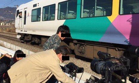 撮り鉄 電車 停止に関連した画像-01
