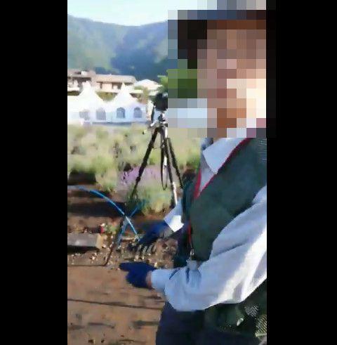ツイッター カメラマン 三脚 花壇 暴力 事件に関連した画像-06