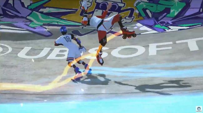E3 ユービーアイソフト カンファレンス2019 Roller Champions スポーツゲームに関連した画像-15