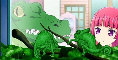 ワニ 緑色 描く 子供 灰色 絵 眼科 色覚異常に関連した画像-01
