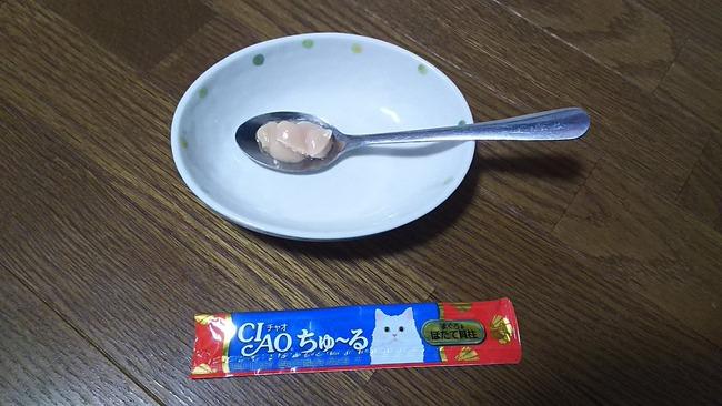 猫 おやつ ちゅ〜る 実験 人間に関連した画像-08