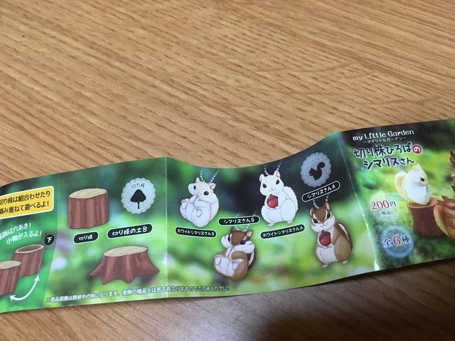 リス ガチャ 切り株 切り株ひろばのシマリスさんに関連した画像-02