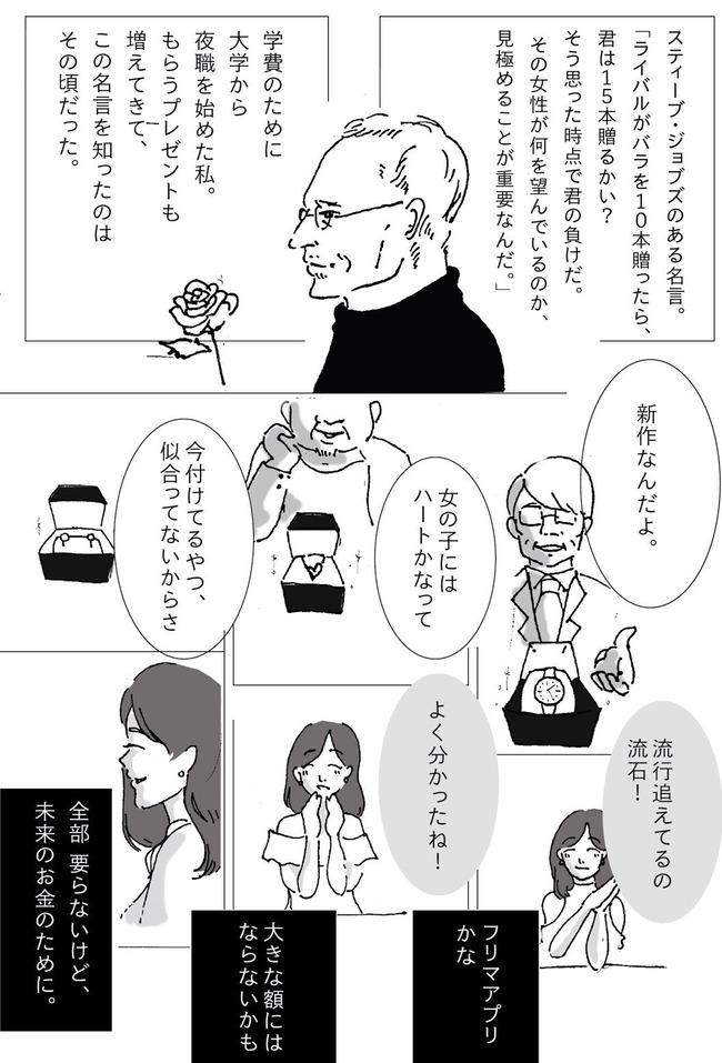 パパ活 プレゼント 目的 現金 ツイッター 夜職に関連した画像-02