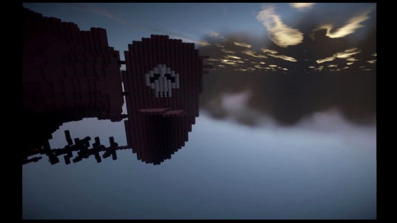 天空の城ラピュタ マインクラフト マイクラ 職人 完全再現に関連した画像-02