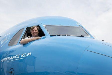 オランダ国王 パイロット 副操縦士 航空機 王族に関連した画像-01