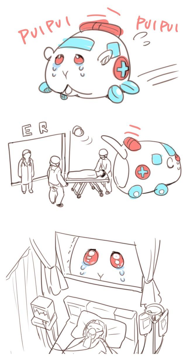 モルカー アニメ ツイッター イラスト ファンアート 1話 モルモット ぬいぐるみに関連した画像-18