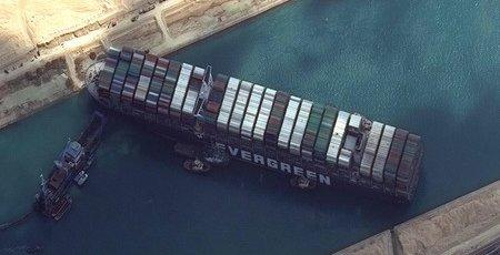 スエズ運河 座礁船 離礁に関連した画像-01