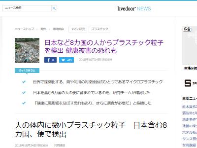 微小プラスチック粒子 便 日本人に関連した画像-02