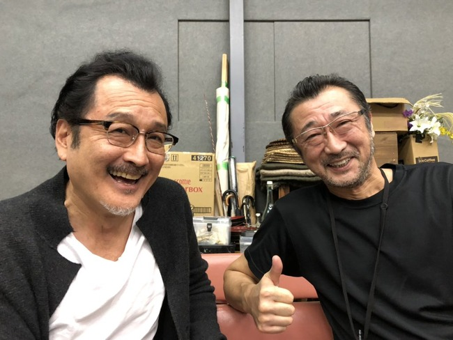 吉田鋼太郎 大塚明夫 舞台 稽古 兄弟 俳優 声優に関連した画像-03