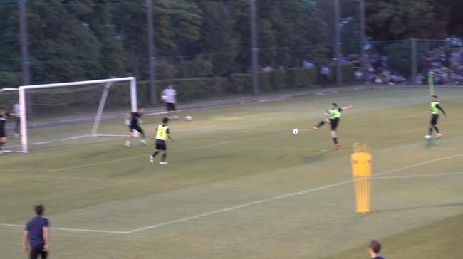 サッカー日本代表 シュート練習 下手に関連した画像-01