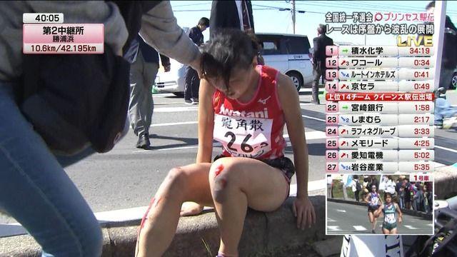 女子駅伝 駅伝 四つんばい 前進 岩谷産業 飯田怜に関連した画像-06