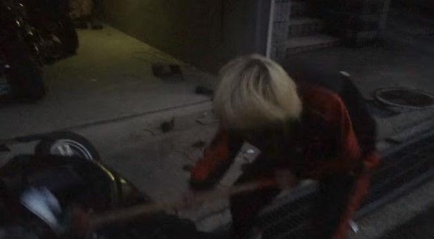 PS4 破壊 親父 ハンマー たむちん 逆襲 原付バイクに関連した画像-10