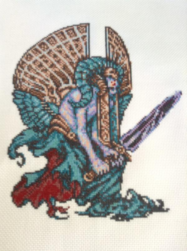 ロマンシングサガ ロマサガ サルーイン ラスボス 刺しゅう 刺繍 漫画家 母に関連した画像-02