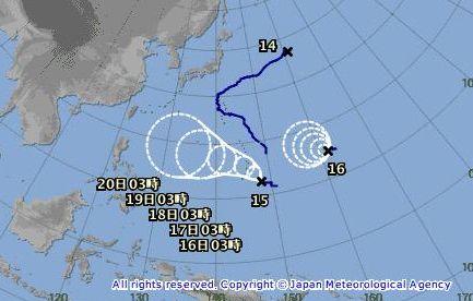 台風 台風15号 台風16号に関連した画像-01