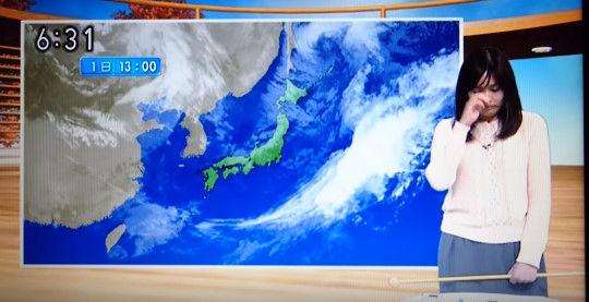 NHK山形 お天気お姉さん 涙に関連した画像-01