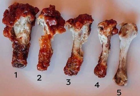 骨付き チキン 食べ方 議論 勃発 有名人に関連した画像-01