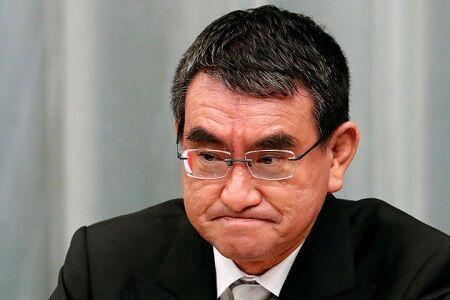 【あっ...】河野大臣、中国政府の人権侵害行為を非難する『対中非難決議』の是非を問われるも、ただ一人だんまりを決め込んでしまう