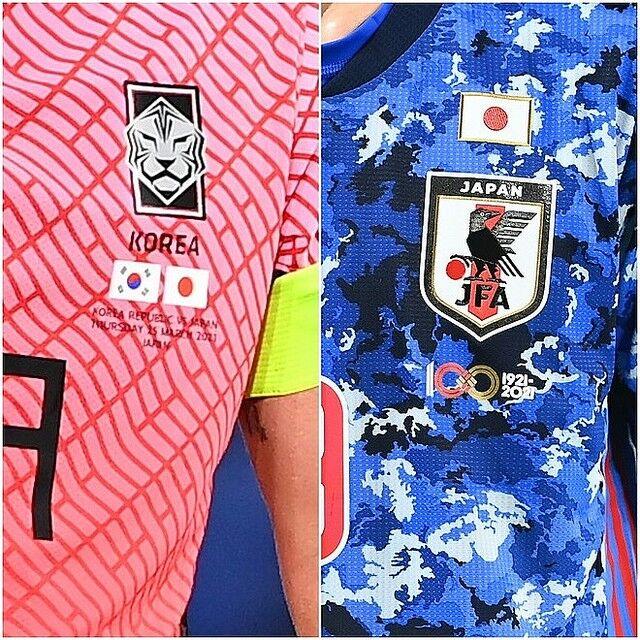 韓国 サッカー 日韓戦 日の丸 日本国旗 日章旗 親善試合に関連した画像-03