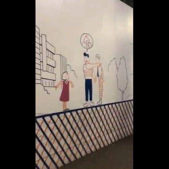 渋谷 工事中シャッター 絵に関連した画像-21