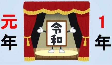 令和 元号 書き方 元年 に関連した画像-01