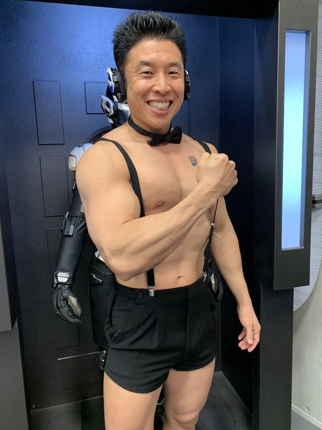仮面ライダーゼロワン 腹筋崩壊太郎 なかやまきんに君 スピンオフに関連した画像-05
