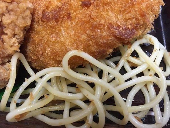 弁当 パスタ スパゲティ 下敷きに関連した画像-01