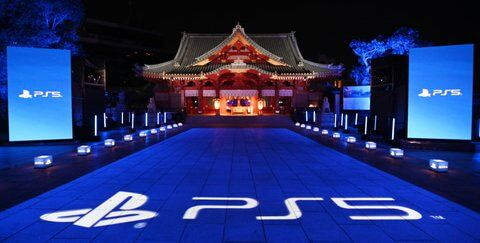 神田明神 PS5  コラボ ライトアップ ゲーミングに関連した画像-01