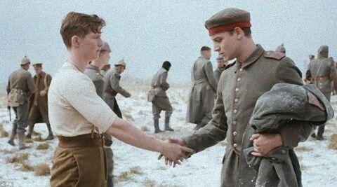 CM コマーシャル 映画 終戦 第一次世界大戦 イギリス クリスマス スーパー Sainsbury'sに関連した画像-01