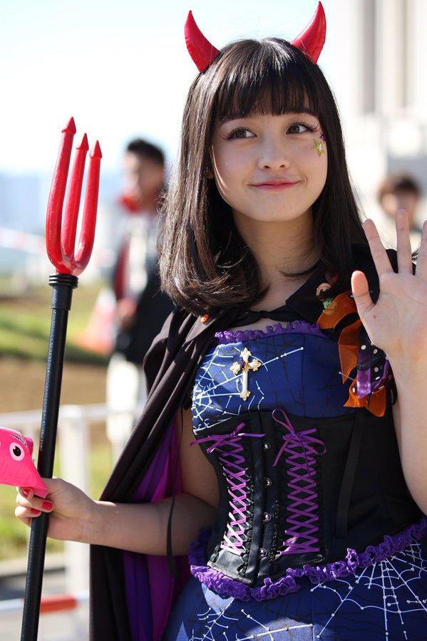 ハロウィン お台場 橋本環奈 アイドル パレードに関連した画像-04