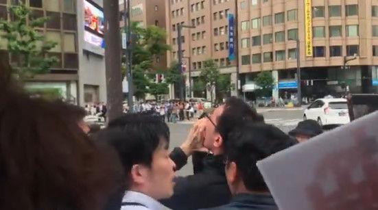 安倍総理 演説 北海道 左翼 妨害に関連した画像-02