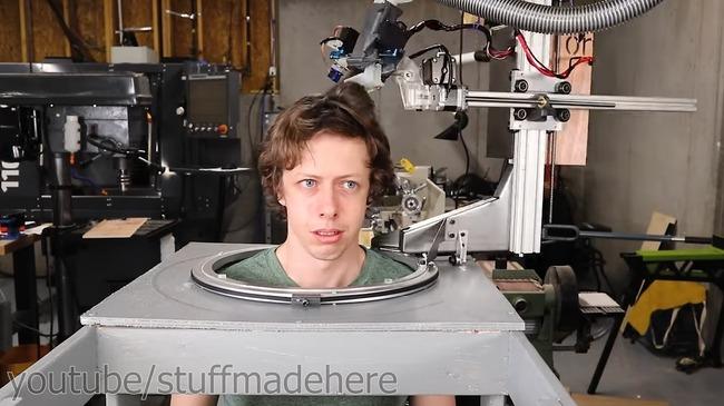 全自動 散髪 ロボット 自作に関連した画像-07